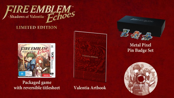 Fire Emblem Echoes: Shadows of Valentia LE available to preorder again at EB Games