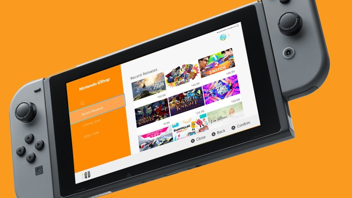 Switch eShop gets new features to make discovering new games easier