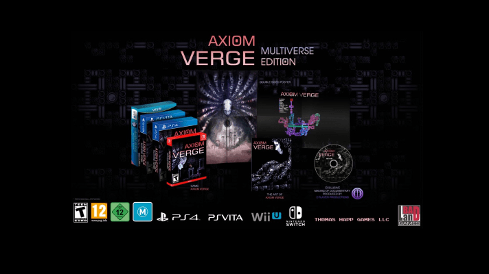 Axiom Verge: Multiverse Edition physical version coming to Switch