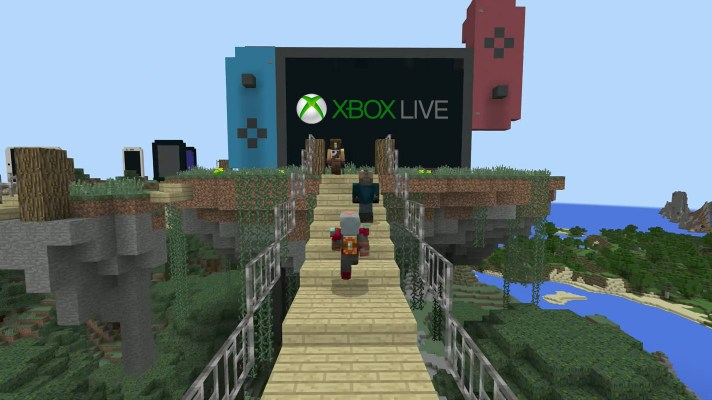 Xbox Live Accounts will be used with Minecraft for Switch
