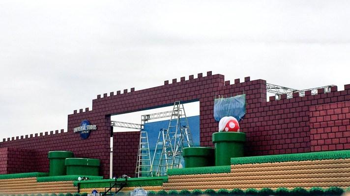 Super Nintendo World at Universal Japan begins construction (Update: Event Stage)