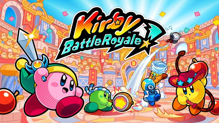 Kirby: Battle Royale revealed for 3DS, coming November 3rd