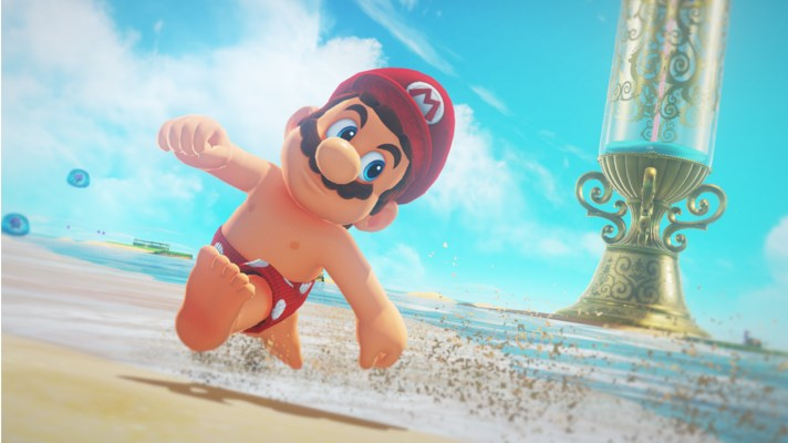 More Super Mario Odyssey kingdoms and features, red(der) Joy Cons revealed