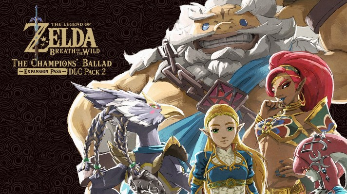 Breath of the Wild's Champions' Ballad DLC still on track for 2017