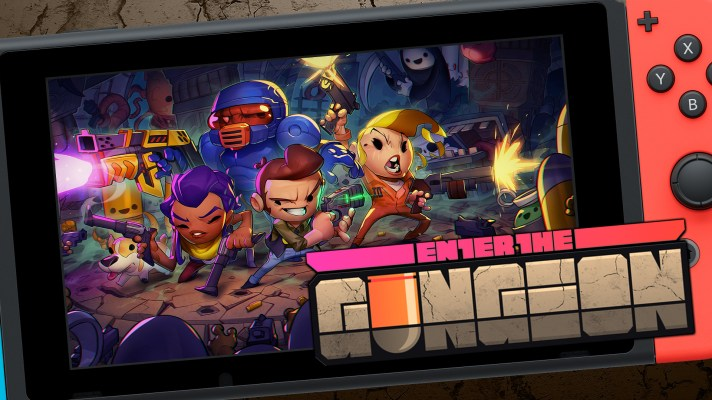 Preview + First look at Enter the Gungeon on Nintendo Switch