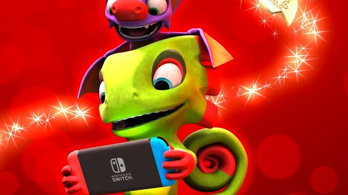 Yooka-Laylee finally set for Switch on December 14
