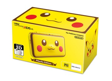 New Nintendo 2DS XL Pikachu Edition Packshot