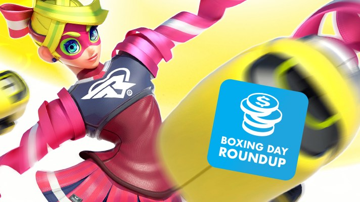 Bargain Roundup: Nintendo Boxing Day Bargains