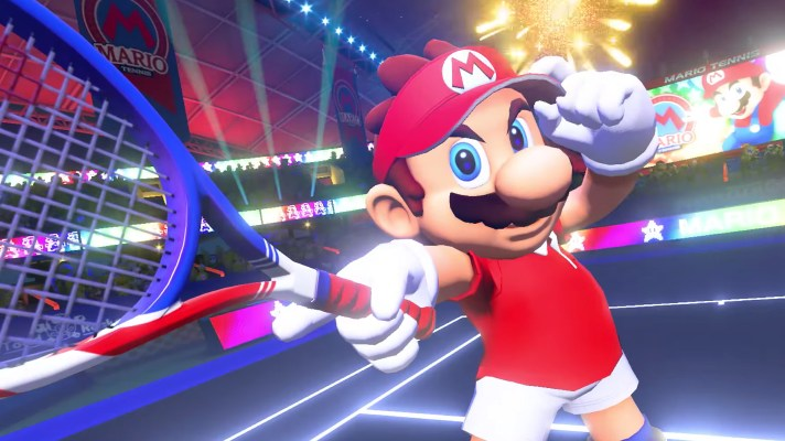 Nintendo serving up Mario Tennis Aces for Switch with story mode
