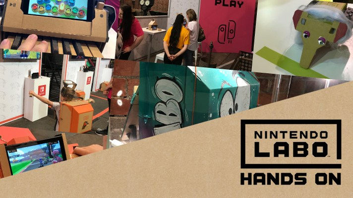 Hands-on with Nintendo Labo – Nintendo's next experiment