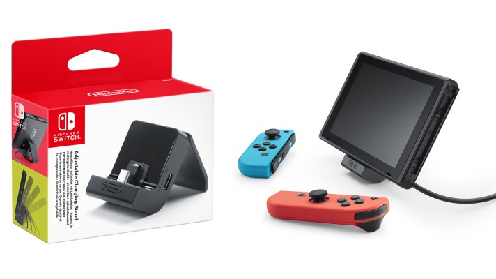 Nintendo announces a new Switch charging stand for tabletop mode
