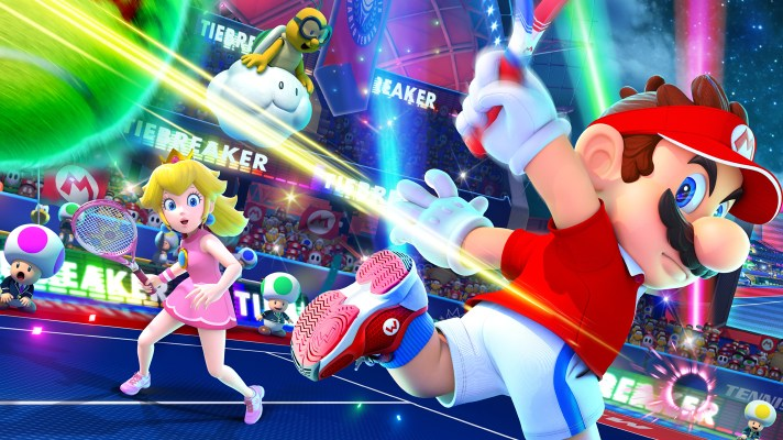 Mario Tennis Aces 2.0 adds four new characters and a co-op challenge mode