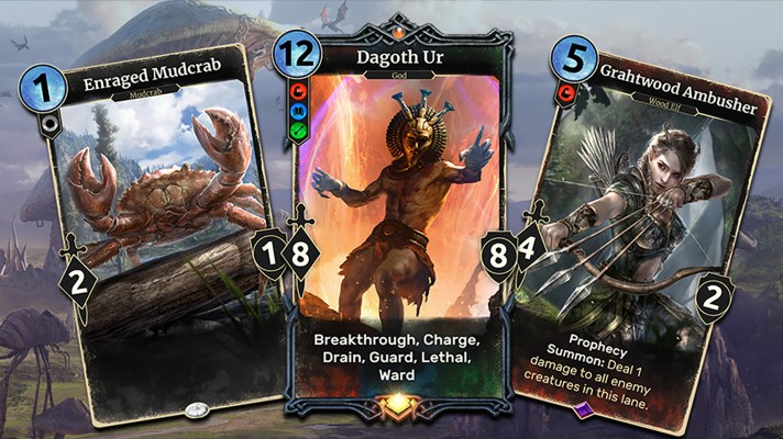 E3 2018: Strategy card game The Elder Scrolls: Legends coming to Switch this year