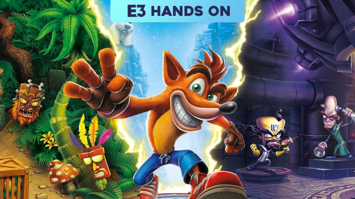 E3 2018: Hands-on with Crash Bandicoot N. Sane Trilogy on Switch