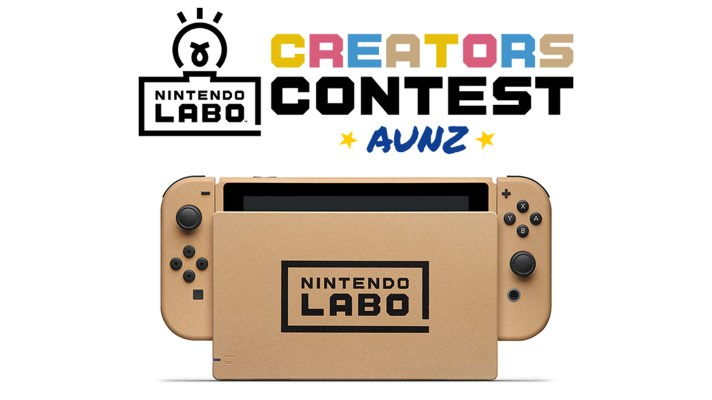 Nintendo is giving away a Labo-inspired Switch for their Creators Contest