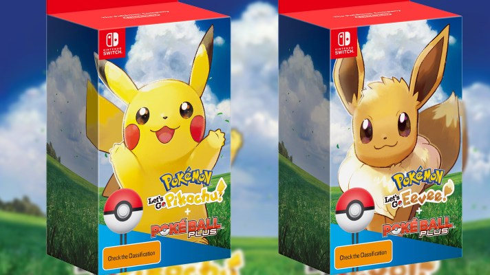 E3 2018: Pokémon: Let's Go, Pikachu & Eevee will have a Pokéball bundle