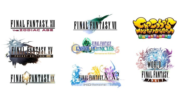 Nine Final Fantasy games are coming to Switch