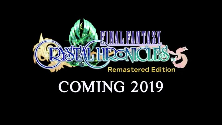 Final Fantasy Crystal Chronicles Remastered Edition coming in 2019