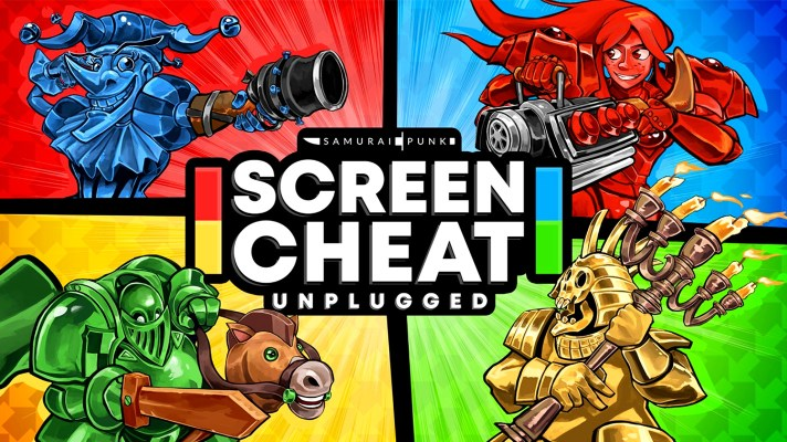 Aussie game Screencheat gets an exclusive remaster on Switch next week