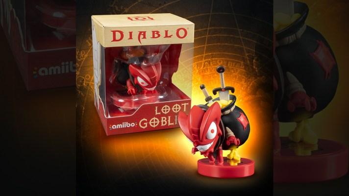 Diablo amiibo announced, Loot Goblin!