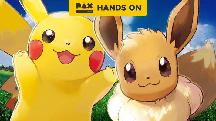 PAX Aus Hands On: Pokemon Let's Go Pikachu and Eevee