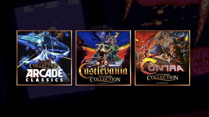Konami announce Arcade, Castlevania and Contra Collections for Switch
