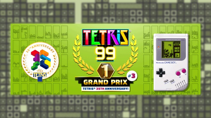 Tetris 99's third Grand Prix offers a Game Boy theme as its prize