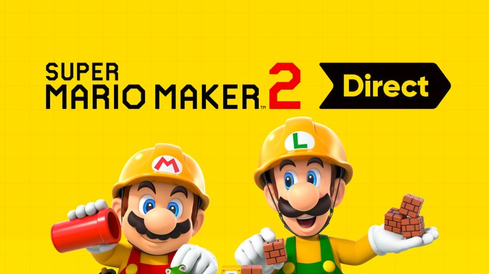 Super Mario Maker 2 Direct coming Thursday morning