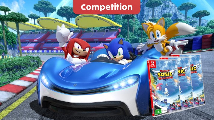 Competition: Three copies of Team Sonic Racing to win!