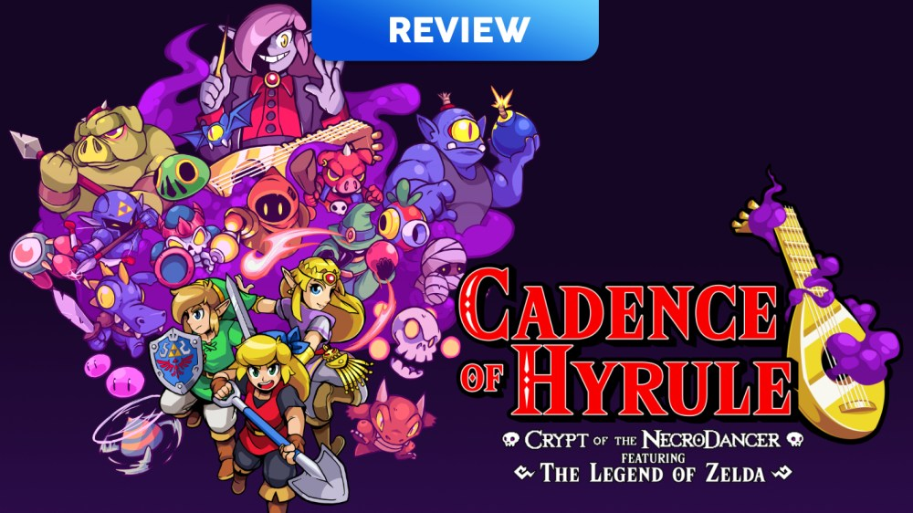 Cadence Of Hyrule Crypt Of The Necrodancer Featuring The Legend Of Zelda Switch Eshop Review Vooks