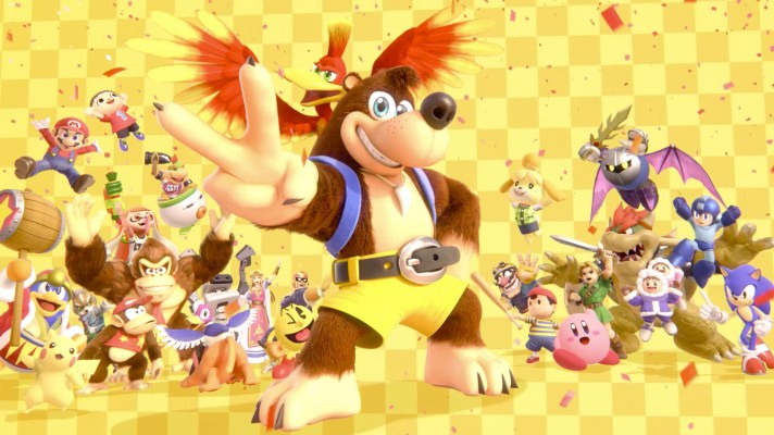 Banjo-Kazooie unleash onto Super Smash Bros. Ultimate today!