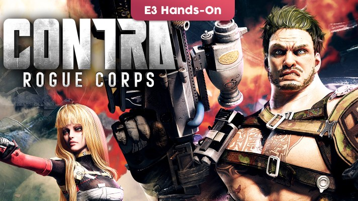 E3 2019: Hands-on with Contra: Rogue Corps