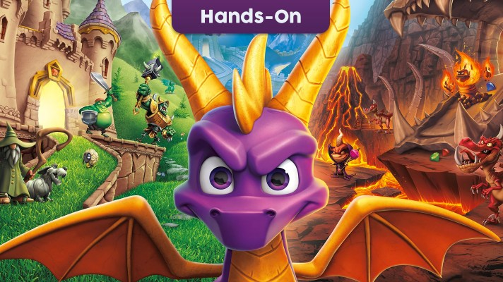 E3 2019: Hands-on with Spyro Reignited Trilogy on Switch