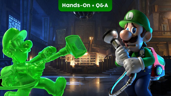 E3 2019 Hands On With Luigi S Mansion 3 Multiplayer And Q A Vooks
