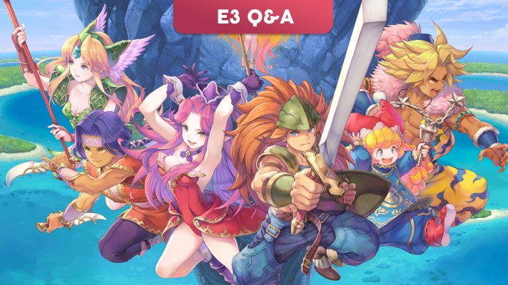 E3 2019: Q&A with Shinichi Tatsuke and Masaru Oyamada, producers of Trials of Mana Remake