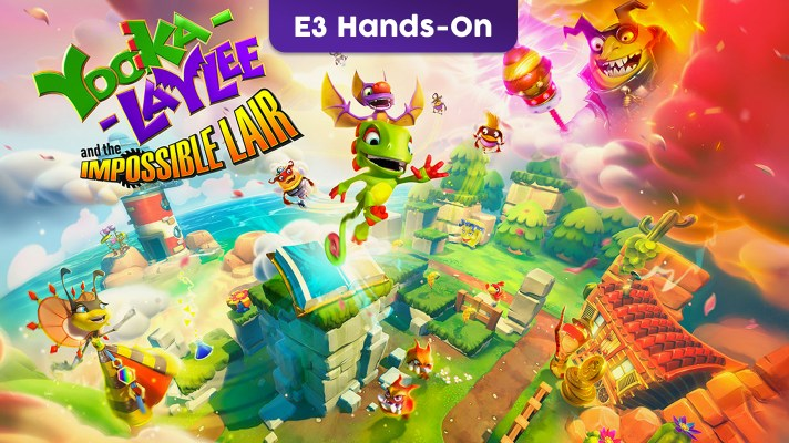 E3 2019: Hands-on with Yooka-Laylee and the Impossible Lair