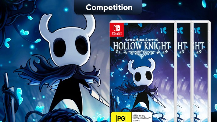 Competition: Three copies of Hollow Knight on Switch to win!