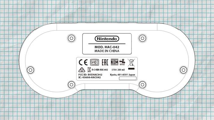 FCC filing reveals SNES-shaped controller for Switch