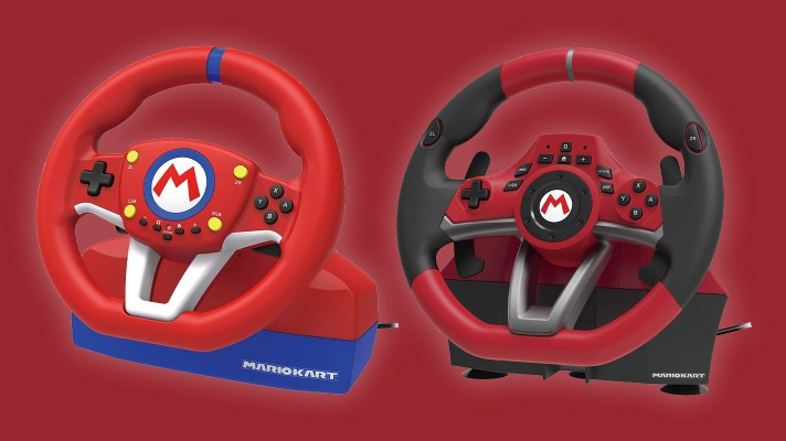 Hori announces two Mario Kart Racing Wheels for Switch