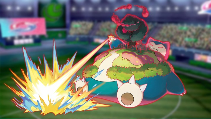 Gigantamax Snorlax snoozes its way into Pokémon Sword and Shield next week