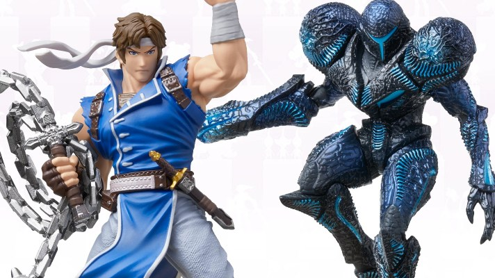 Dark Samus and Richter Belmont amiibo releasing January 17th