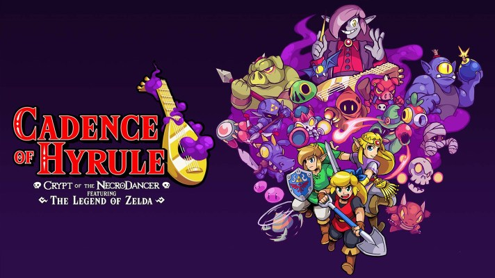 New Cadence of Hyrule update adds a new character, dungeon mode, and more