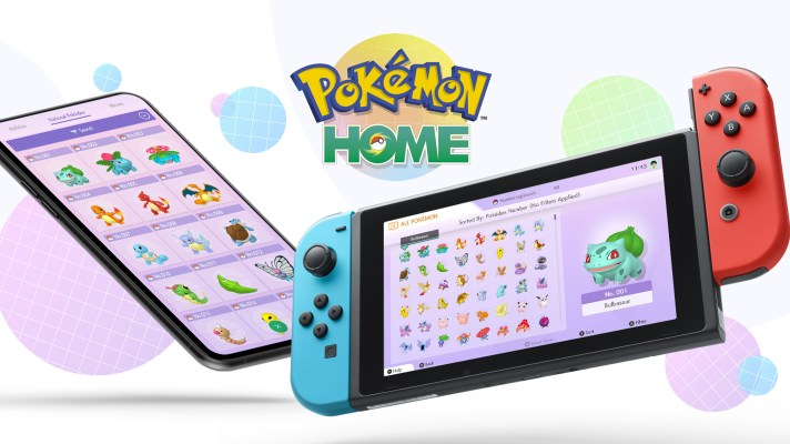 Pokémon HOME available now on Switch and mobile