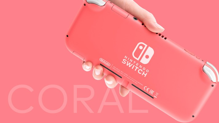 New Coral coloured Nintendo Switch Lite coming to Australia on April 24th