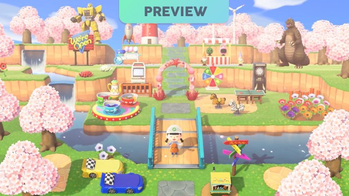 Checking out Animal Crossing: New Horizons – A Preview