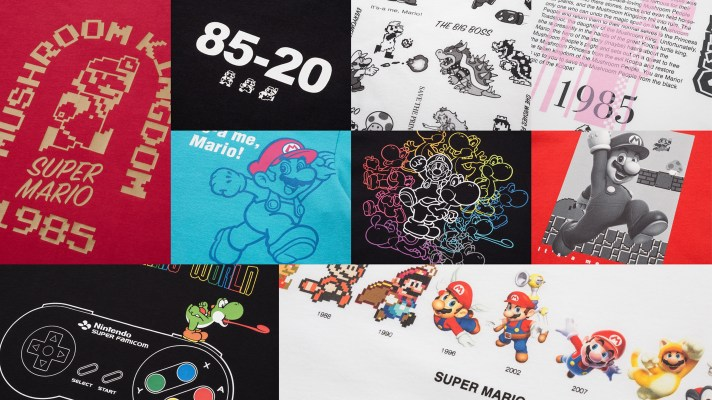 Uniqlo is back with new Super Mario shirts for the 35th Anniversary