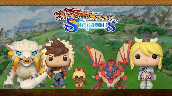 Monster Hunter Stories is getting a Pop Figure collection