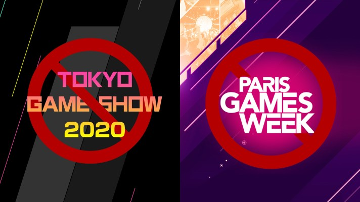 Both Paris Games Week and Tokyo Game Show are cancelled