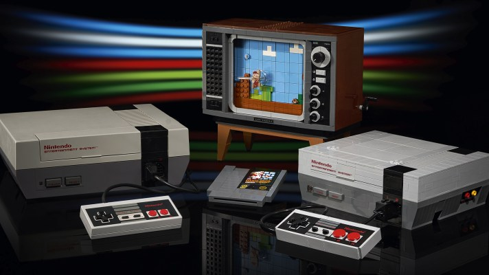 LEGO Nintendo Entertainment System set to arrive on August 1st with interactive TV included