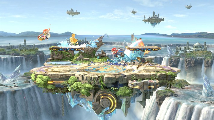 Super Smash Bros. Ultimate gets a small update with a Small Battlefield